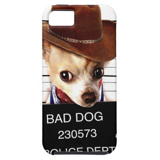 chihuahua cowboy - sheriff dog case for the iPhone 5