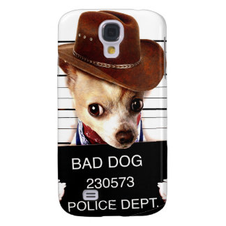 chihuahua cowboy - sheriff dog galaxy s4 case
