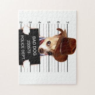 chihuahua cowboy - sheriff dog jigsaw puzzle