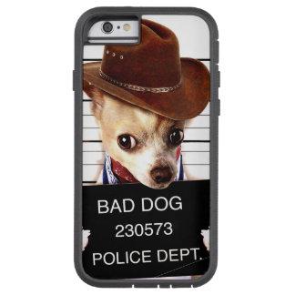 chihuahua cowboy - sheriff dog tough xtreme iPhone 6 case