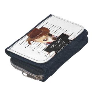 chihuahua cowboy - sheriff dog wallet