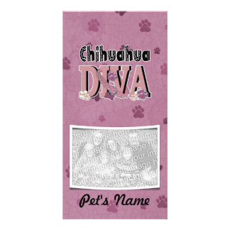 Chihuahua DIVA Photo Greeting Card