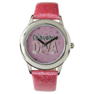 Chihuahua DIVA Wrist Watches