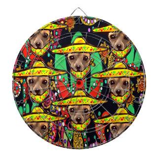 CHIHUAHUA DOG DARTBOARD