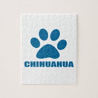 CHIHUAHUA DOG DESIGNS JIGSAW PUZZLE