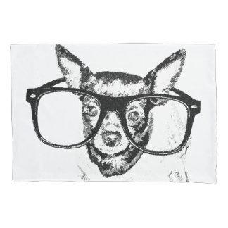 Chihuahua Dog Illustration Drawing Pillowcase