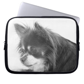 Chihuahua Dog Portrait Laptop Sleeve