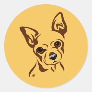 Chihuahua Dog Stickers