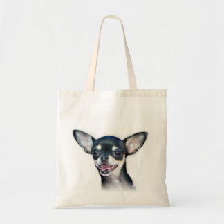 Chihuahua dog tote bag