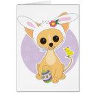 Chihuahua Easter Card