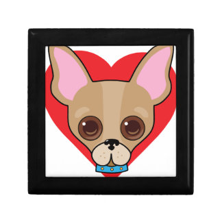 Chihuahua Face Gift Box