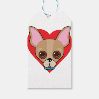 Chihuahua Face Gift Tags