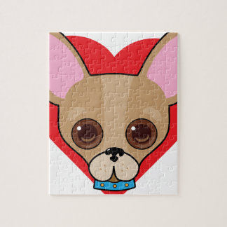 Chihuahua Face Puzzle