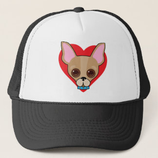Chihuahua Face Trucker Hat