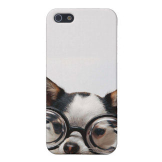 Chihuahua glasses - dog eyeglasses iPhone 5/5S cover
