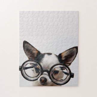 Chihuahua glasses - dog eyeglasses jigsaw puzzle