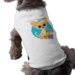 Chihuahua Hanukkah Sleeveless Dog Shirt