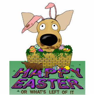 Chihuahua Happy Easter Sculpture Standing Photo Sculpture
