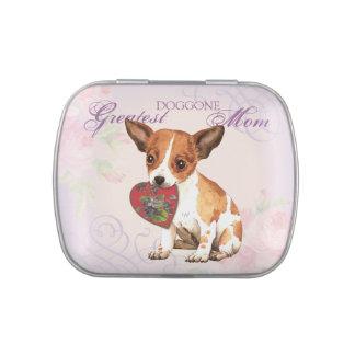 Chihuahua Heart Mom Candy Tin