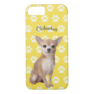 Chihuahua Illustrated Cell Phone Case