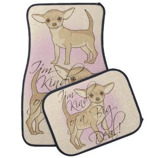 Chihuahua I'm Kind of a Big Deal Graphic Design Floor Mat