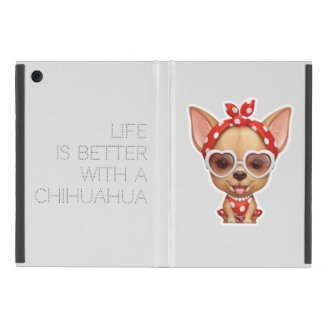Chihuahua in the Guise of a Retro Beauty Cover For iPad Mini