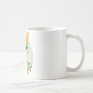 Chihuahua Lights Basic White Mug