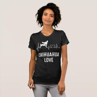 Chihuahua Love Black Tee Shirt