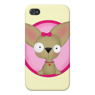 Chihuahua Love iPhone Case iPhone 4 Cover