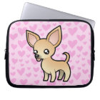 Chihuahua Love (smooth coat) Laptop Sleeve