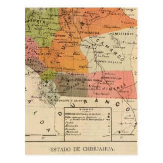Chihuahua, Mexico Postcard