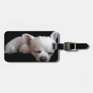 Chihuahua Minnie Luggage Tag