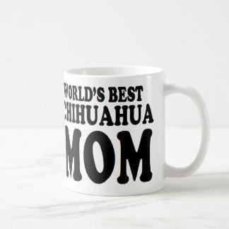 chihuahua mom world's best coffee mug