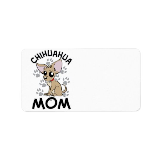 Chihuahua Mum Address Label