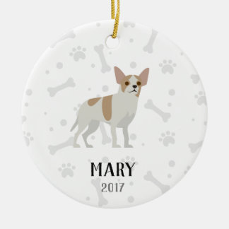 Chihuahua Personalized Christmas Ornament