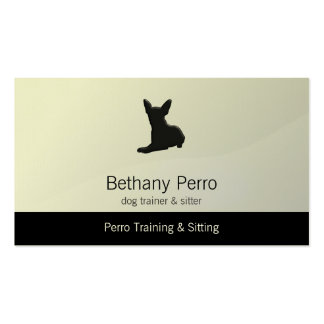Chihuahua Pet Dog Business Card Templates