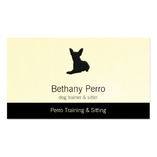 Chihuahua Pet Dog Business Card Template