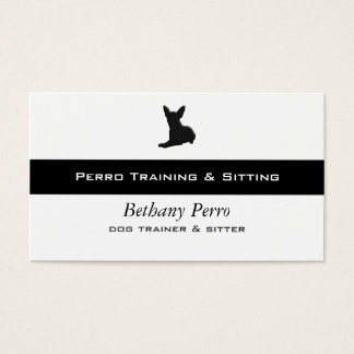 Chihuahua Pet Dog Business Card