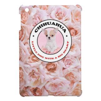 Chihuahua pink iPad mini case
