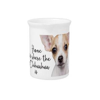 Chihuahua Pitcher