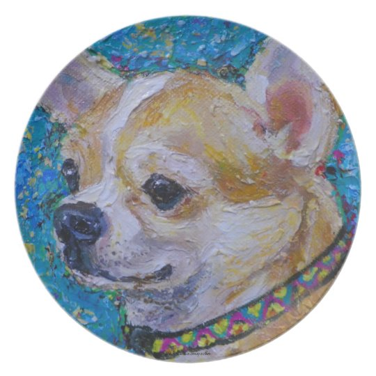 Chihuahua Plate
