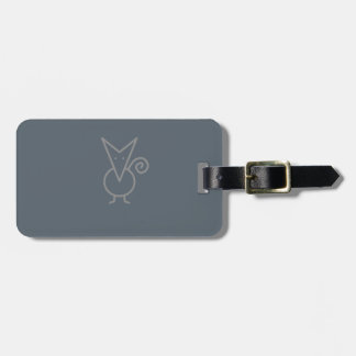 Chihuahua Pointer Dog Luggage Tag