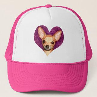 Chihuahua Portrait Trucker Hat