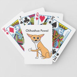 Chihuahua Powa! Poker Deck
