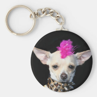 Chihuahua Punk keychain