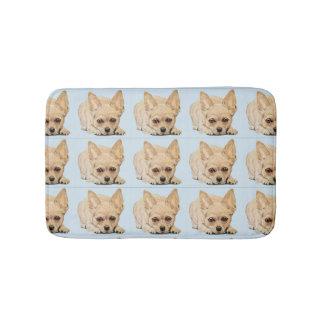 Chihuahua Puppy by Carol Zeock Bath Mat