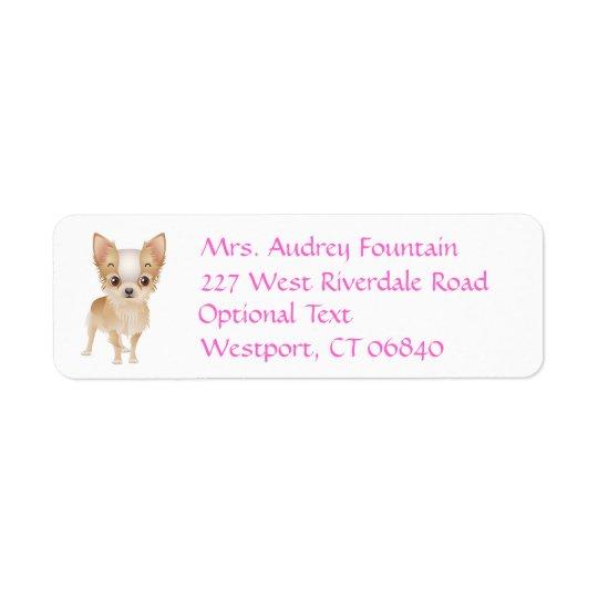 Chihuahua Puppy Dog Return Address Name Label