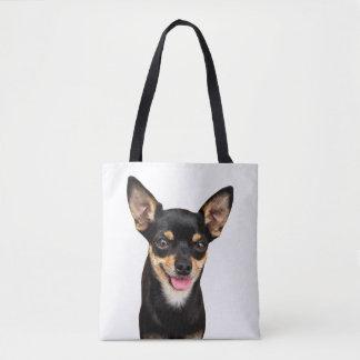 Chihuahua Puppy Dog Tote Bag