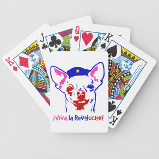 Chihuahua Revolution Bicycle Playing Cards