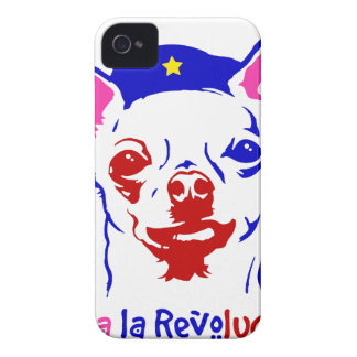 Chihuahua Revolution iPhone 4 Case-Mate Cases